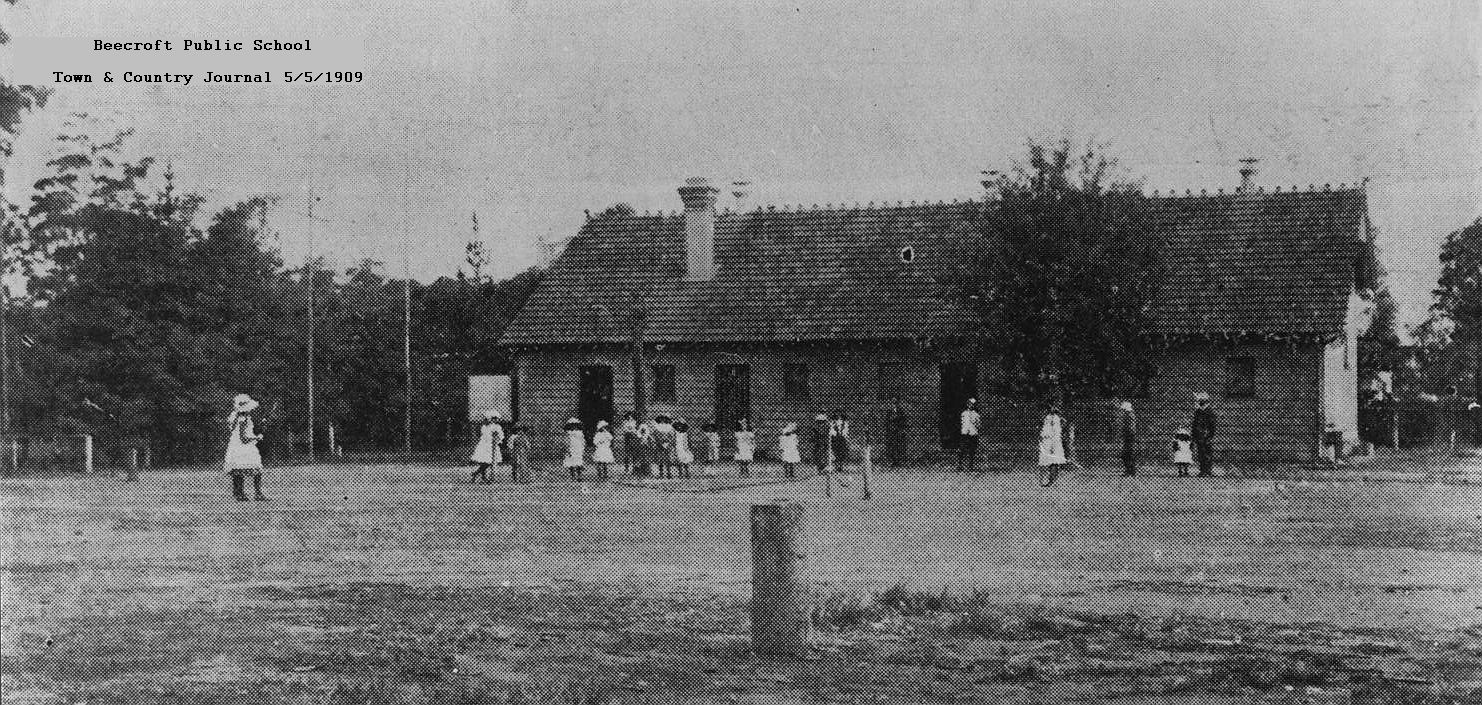 Beecroft Primary School 1909